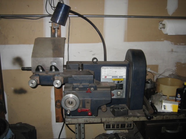 Brake Lathe Accu Turn On The Car Pictures