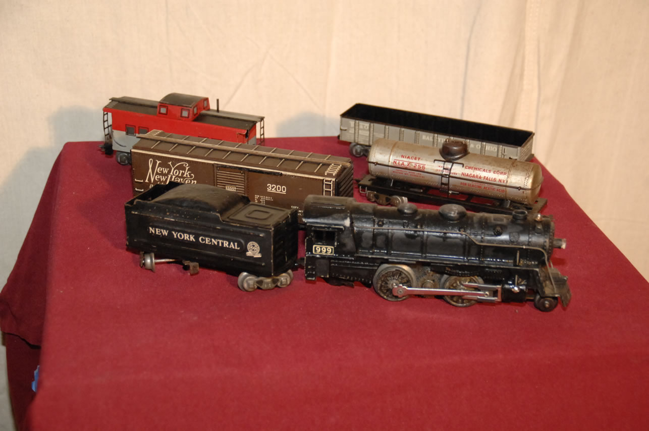 Vintage Model Trains Auction Lionel Marx And American Flyer